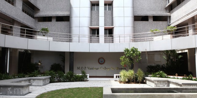 mop Vaishnav college for women